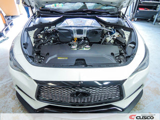 Cusco 288 540 A Strut Bar on Q50 3.0t Sedan 2016+ and Q60 3.0t Coupe 2017+ DIY Mod
