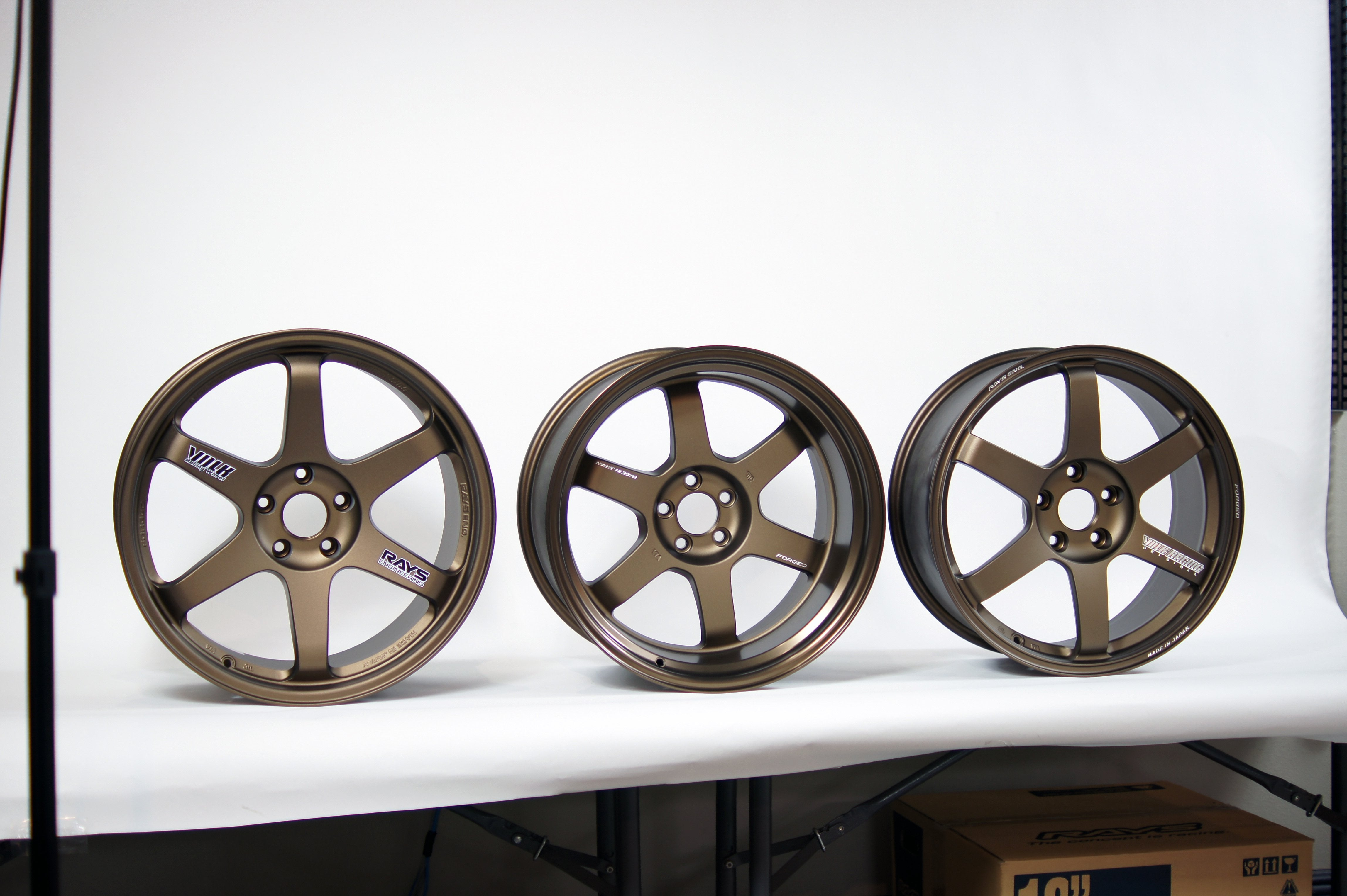 VOLK TE37 WHEELS: A History of Variants