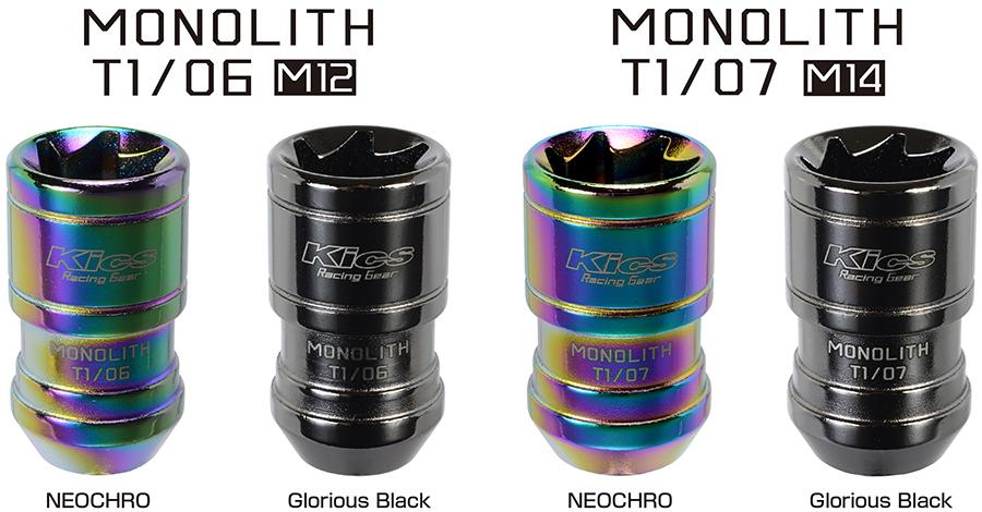 New Kics Monolith Locking Lugnuts