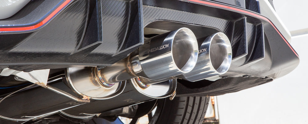 New Honda Civic Type R Revel Medallion Touring-S CatBack Exhaust