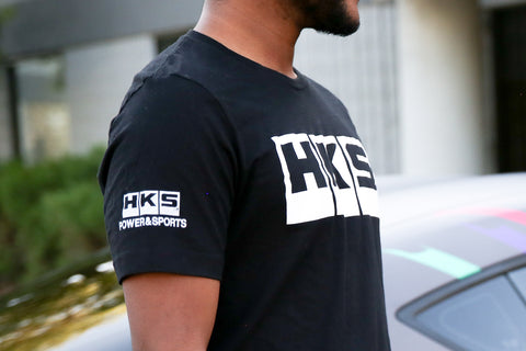 HKS Logo Black Shirt