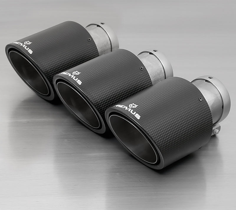 Remus 70CS 102mm Angled Carbon Tips for FK8 Remus Exhaust
