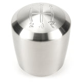 Raceseng Ashiko Shift Knob (Gate 4 Engraving) M12x1.25mm Adapter - Brushed