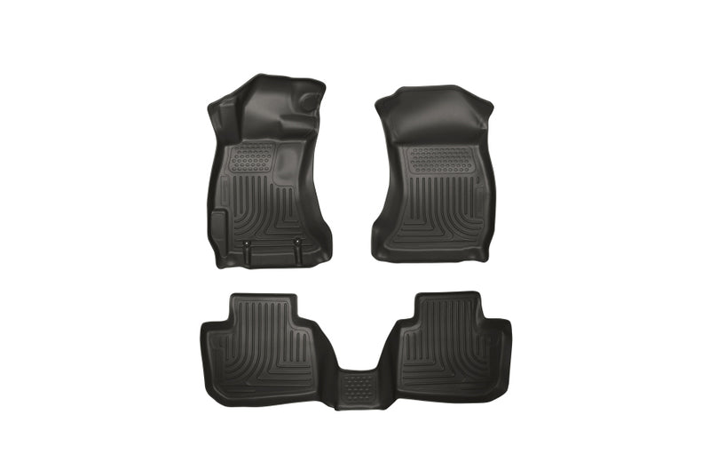 WeatherBeater Combo Front&2nd Row Black Floor Liners