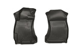 WeatherBeater Combo Front Row Black Floor Liners