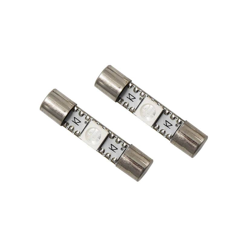 Diode Dynamics - DD0040P - 28mm SMF1 LED Green (pair)