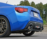 HKS Hi-Power Spec L Cat-Back Exhaust - Scion FR-S, Toyota 86, & Subaru BRZ (32016-AT123)