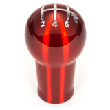 Raceseng Prolix Shift Knob (Gate 3 Engraving) M12x1.25mm Adapter - Red Translucent