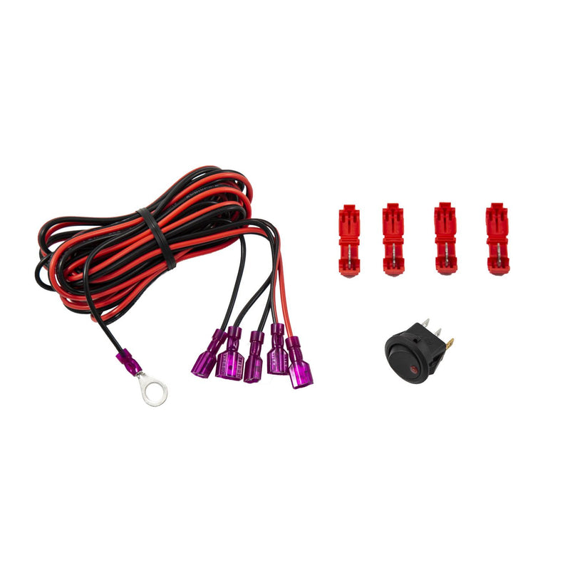 Diode Dynamics - DD3034 - Add-on LED Switch Kit - Red