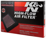 K&N 04-09 Lexus GX470 4.7L / 02-08 Toyota 4Runner / 01-07 Sequoia / 00-06 Tundra Drop In Air Filter