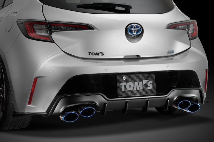 Tom's Racing 2019+ Toyota Corolla Hatcback FRP Rear Diffuser