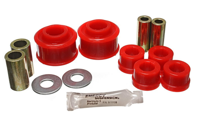Energy Suspension Subaru Crosstrek/Forester/Impreza/Legacy/WRX Red Front Control Arm Bushing Set
