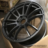 57Motorsport G07EX 18x9.5 +35 5-120 Matte Graphite | 17+ Honda Civic Type R |