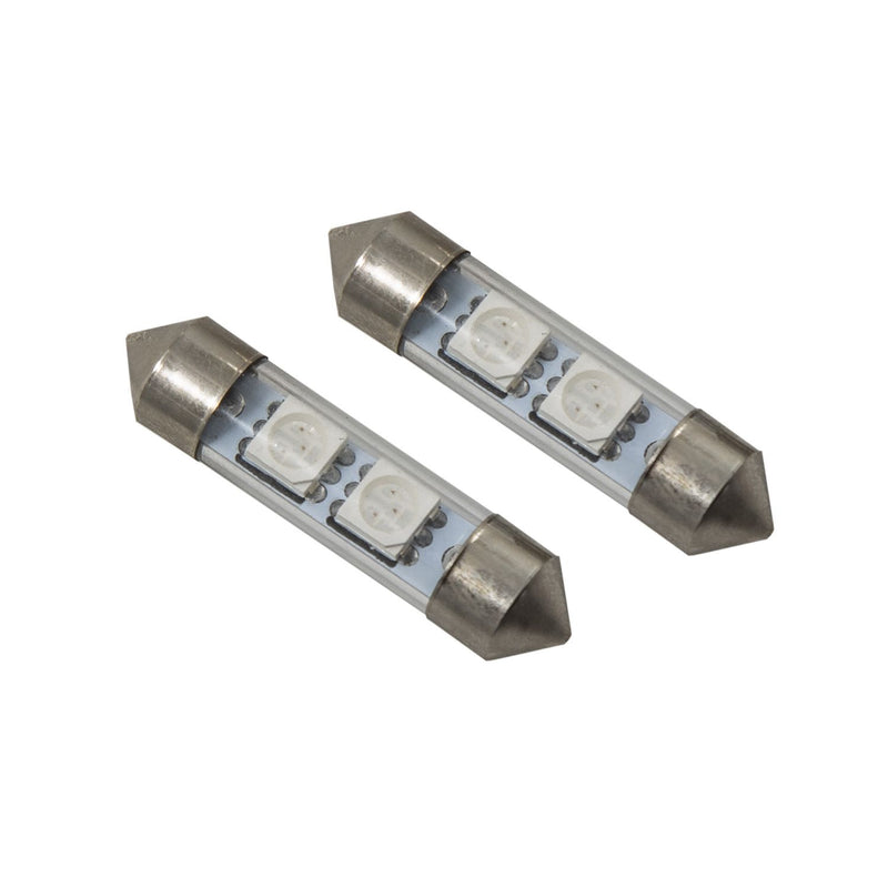 Diode Dynamics - DD0080P - 36mm SMF2 LED Red (pair)