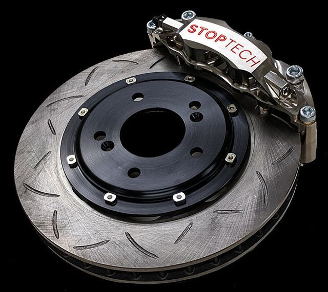 StopTech Race Nickel Plated C43 Big Brake Kit (Front Only) - Honda S2000 (00-05)