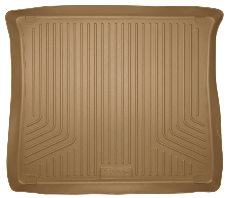 Husky Liners 10-12 Toyota 4Runner WeatherBeater Tan Rear Cargo Liner (Standard Cargo Area)