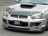 Chargespeed Carbon Fiber Brake Ducts for 2004-2005 WRX STi