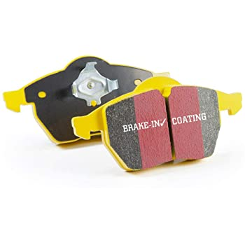 EBC YELLOWSTUFF FRONT BRAKE PADS - 17+ CIVIC TYPE R FK8, 04-17 STI, & 03+ EVO