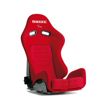 Bride GIAS II Reclinable Bucket Seat in Red w. Red Logo