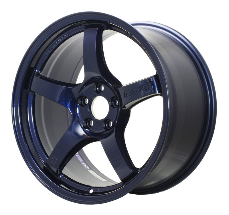 Gram Lights 57CR 19x9.5 +25 5x112 Eternal Blue Pearl Wheel