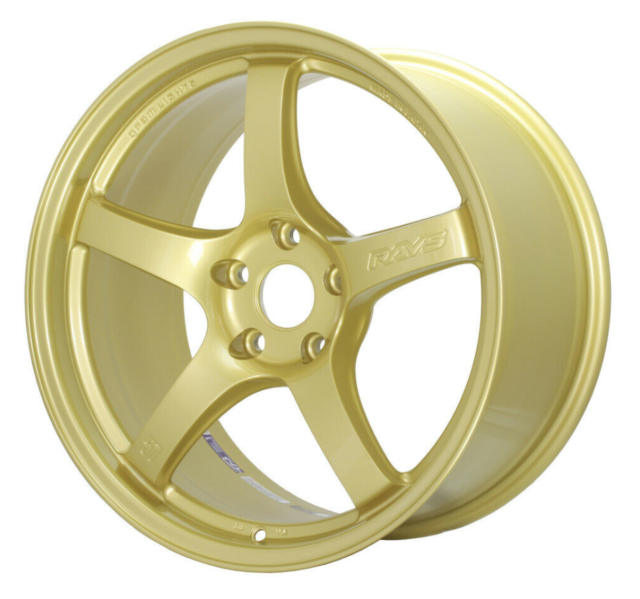 Gram Lights 57CR 17x9 +38 5x114.3 E8 Gold Wheel *Kami Exclusive*