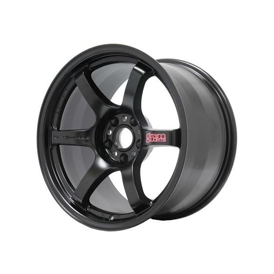 Gram Lights 57DR 19x10.5 +35 5-114.3 Semi Gloss Black Wheel