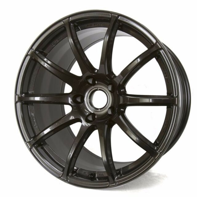 Gram Lights 57TRANSCEND 18X9.0 +38 5-100 SUPER DARK GUNMETAL