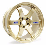 "Volk Racing TE37 OG Wheel in 18x10"" +41 5x120 in Gold for Civic Type R"