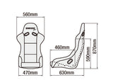 BRIDE VIOS III Japan Bucket Seat **FIA Approved**
