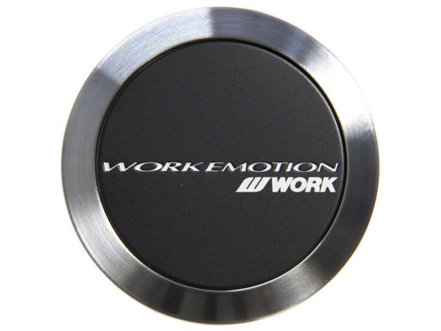 Work Center Cap Black Flat Type Emotion Series - Universal