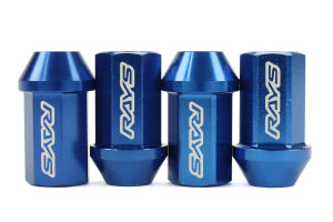 Rays Dura Nut L42 Blue Lug Nuts & Locks | M12X1.25