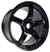 "GramLights 57CR 19x8.5"" +35 5x114.3 Wheel in Glossy Black"