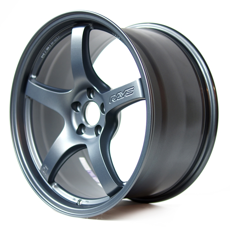 GramLights 57CR 19x9.5 +35 5x120 Wheel in Gunblue 2