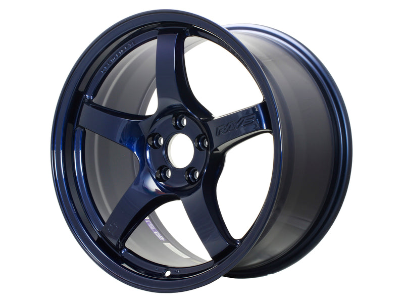 GramLights 57CR 18X9.5 +38 5x114.3 Wheel in Eternal Blue Pearl