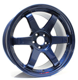 Volk Racing TE37 SL 18x9.5 +38 5x120 Mag Blue Wheel