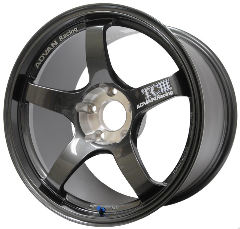 Advan Racing TCIII 18x9.5 +35 5x120 Wheel in Dark Gunmetallic