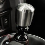 Raceseng Ashiko Shift Knob (Gate 3 Engraving) M10x1.5mm Adapter - Brushed