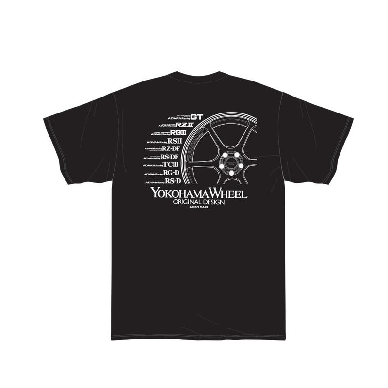 Advan Racing Black T-Shirt |