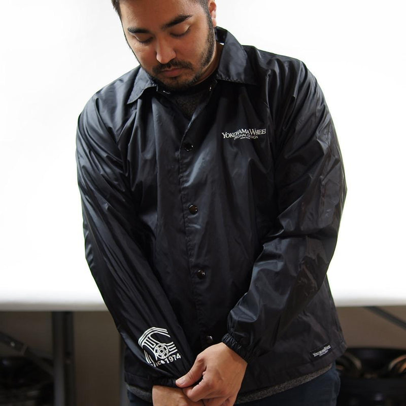 Advan Racing by Yokohama Black Windbreaker |