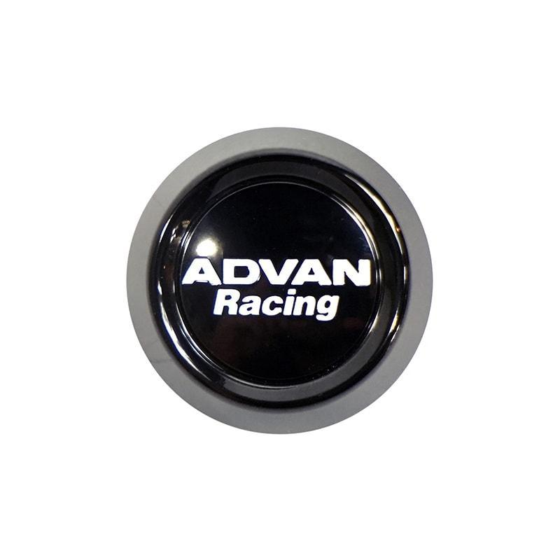 Advan Racing Center Cap - 63 Low Type Black |