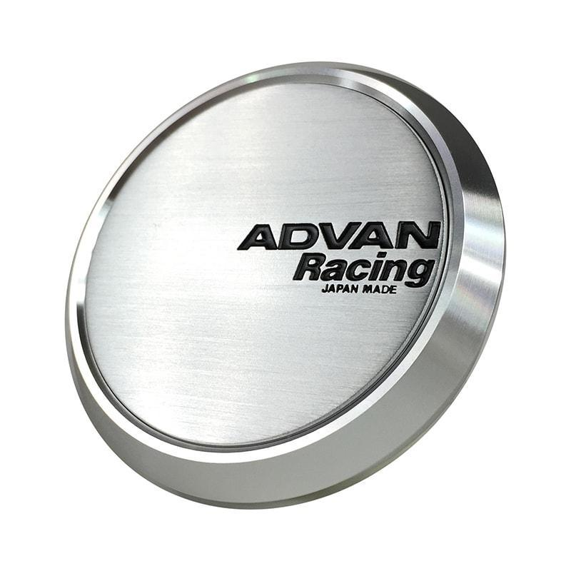 Advan Racing Center Cap - 73 Flat Type Silver |