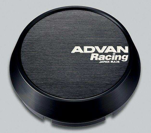 Advan Racing Center Cap - 73 Middle Black