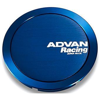 Advan Racing Center Cap - 73mm Full Flat - Blue