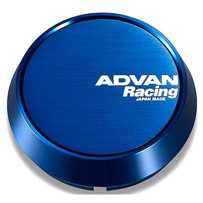 Advan Racing Center Cap - 73mm Middle - Blue