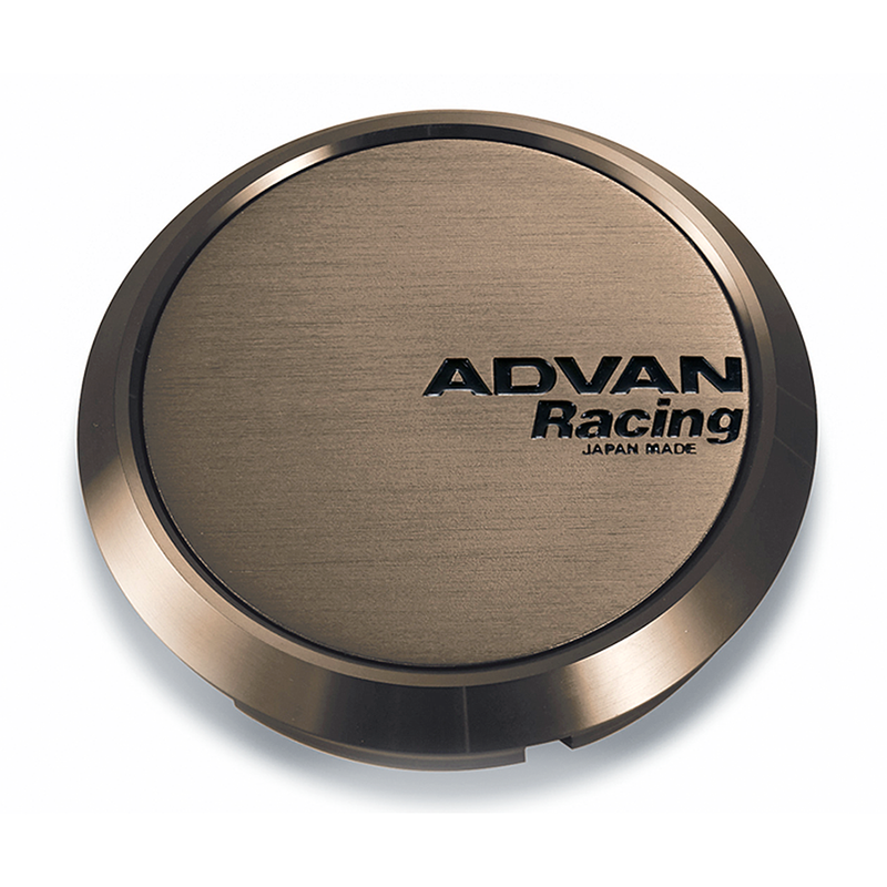 Advan Racing Center Cap Flat 63 Umber Bronze (5x100/4x100 PCD)