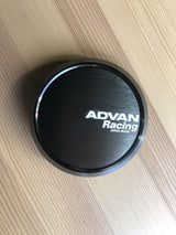 Advan Racing Flat Center Caps Dark Bronze 73mm Bore