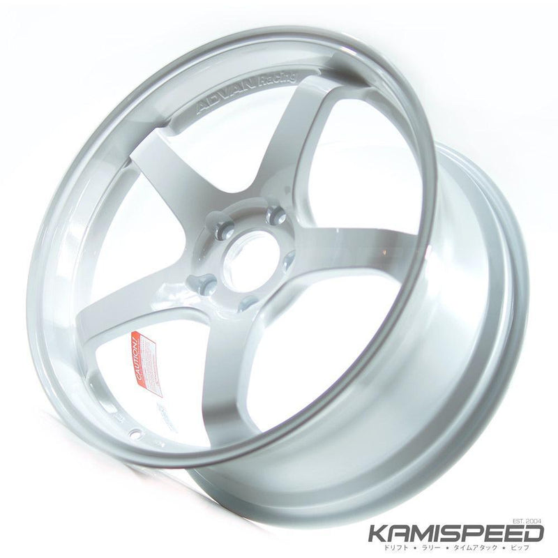 Advan Racing GT 19x9.5 +35 5x120 Racing White