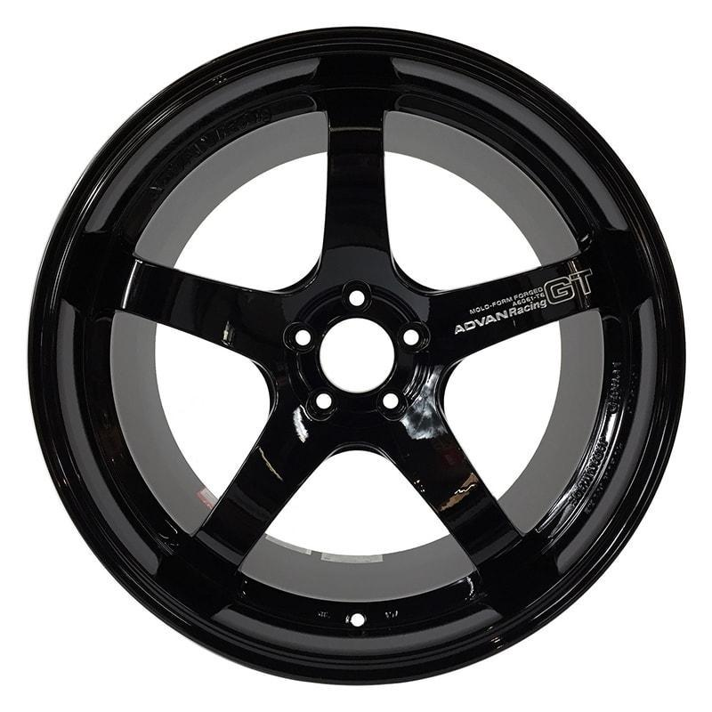 Advan Racing GT Premium Wheels in Racing Gloss Black - GT-R Specification |