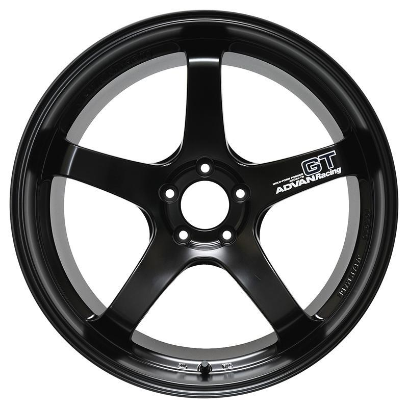 Advan Racing GT Wheels in Semi Gloss Black - GT-R Specification |