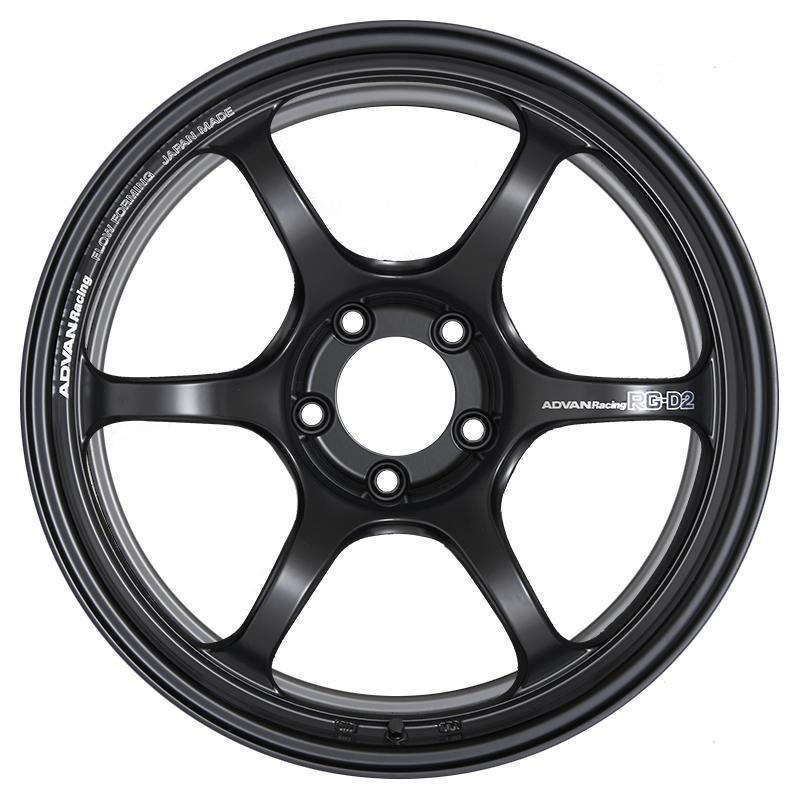 Advan Racing RG-D2 - 17x7.5 +48 5x114.3 - Semi Gloss Black |